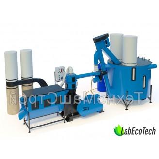 Linia do produkcji pelletu / paszy MLG-1000 MAX+ 25 kW