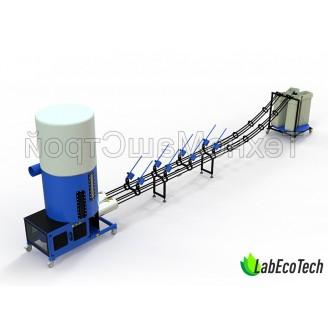 Linia do produkcji brykietów BIOMASS / 16 kW