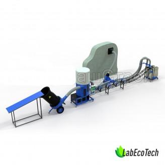 Linia do produkcji brykietu BIOMASS / 26 kW
