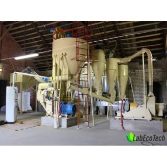 Linia do produkcji pelletu / paszy OGM-1.5 / 106 kW