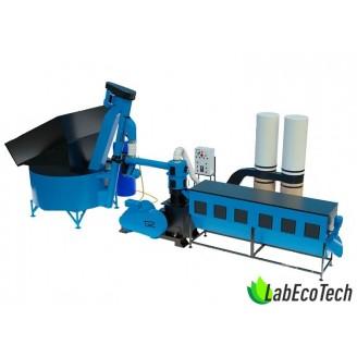 Linia do produkcji pelletu MLG-1500 COMBI+  40kW
