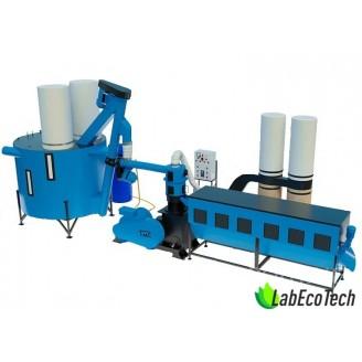 Linia do produkcji pelletu MLG-1500 MAX+  40kW